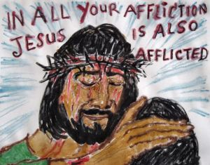 jesus-is-afflicted