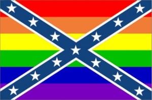 Rainbow Rebel Flag