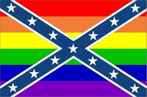 Rainbow Rebel Flag